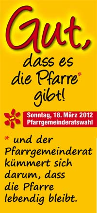 PGR Wahl 2012 - Motto