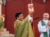 Messe mit Abschied von Kaplan Suresh in der Pfarrgemeinde Gersthof-St. Leopold (Wien 18.) am 30.08.2020