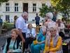 Messe mit Danksagung für Norbert Rodt als Pfarrer von Gersthof-St.Leopold für 44 Jahre- Dr. Rodt begrüßt Mitfeiernde