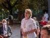 Messe mit Danksagung für Norbert Rodt als Pfarrer von Gersthof-St.Leopold für 44 Jahre - Kammersängering Bernarda Fink