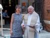 Messe mit Danksagung für Norbert Rodt als Pfarrer von Gersthof-St.Leopold für 44 Jahre- Bezirkvorsteherin Mag.a Silvia Nossek