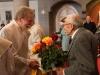 Festgottesdienst zum Partrozinium Hl. Leopold mit Dank an Sepp Knoflach für die 30-jährige Leitung der Gersthofer Kantorei (9.11.2014 in der Pfarrkirche Gersthof)
