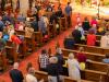 """Bunt wurde es in der Kirche -- """"Eingangsfest"""" in das Gemeindejahr 2021/22 der Pfarre Gersthof-St.Leopold (Wien 18.,)"""
