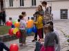 """Bunt blieb es vor der Kirche -- """"Eingangsfest"""" in das Gemeindejahr 2021/22 der Pfarre Gersthof-St.Leopold (Wien 18.,)"""