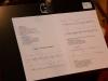"""Welturaufführung des Oratoriums """"Lebendiges Wasser"""" der Komponistin Ana Szilágyi mit Texten von Peter Rettinger am 18. Oktober 2014 in der Pfarrkirche Gersthof-St.Leopold, Wien 18., Österreich"""