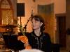 """Ana Szilágyi nach der Welturaufführung des Oratoriums """"Lebendiges Wasser"""" der Komponistin Ana Szilágyi mit Texten von Peter Rettinger am 18. Oktober 2014 in der Pfarrkirche Gersthof-St.Leopold, Wien 18., Österreich"""