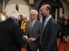 Verleihungs des Stefanusordens an Mitarbeiter der Pfarre Gersthof durch Weihbischof Dr. Helmut Krätzl