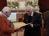 Verleihungs des Stefanusordens an Mitarbeiter der Pfarre Gersthof durch Weihbischof Dr. Helmut Krätzl - and DI Margarete Krenn