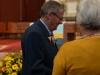 Verleihungs des Stefanusordens an Mitarbeiter der Pfarre Gersthof durch Weihbischof Dr. Helmut Krätzl - an Paul Marhofer