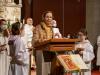 Verkündigung des Evangeliums in der Morgenfeier des Ostergottesdienstes der Pfarrgemeinde Gersthof-St.Leopold - 3. und 4. April 2021