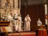 Segen am Ende der Morgenfeier des Ostergottesdienstes der Pfarrgemeinde Gersthof-St.Leopold - 3. und 4. April 2021