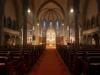 Heimgehen nach der Morgenfeier des Ostergottesdienstes der Pfarrgemeinde Gersthof-St.Leopold - 3. und 4. April 2021