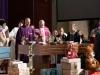 Gottesdienst zum Abschluss der Weihnachtspaketaktion der Pfarre Gersthof-St.Leopold (Wien 18., Österreich)
