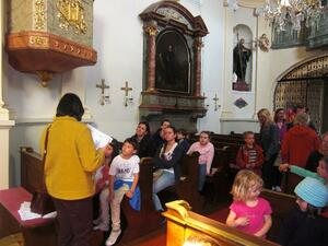Kinder-Rätselrally durch einige katholische Kirchen des 18. Bezirks zur Langen Nacht der Kirchen in Wien am 24.5.2013