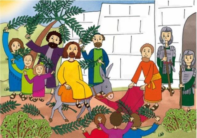 Jerusalem jesu kinder in einzug Was ist